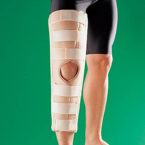 imobilizarea articulației genunchiului